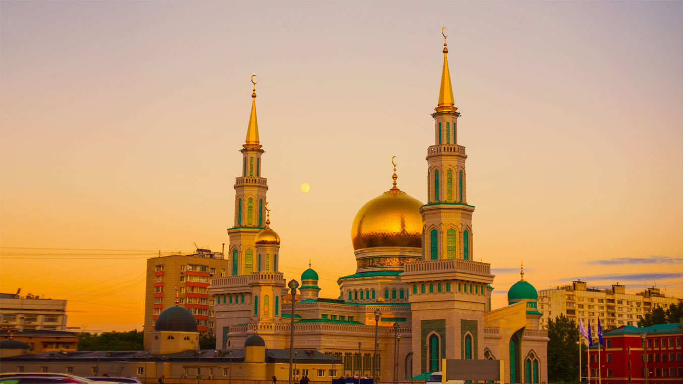 Mosque Cathedral in Moscow